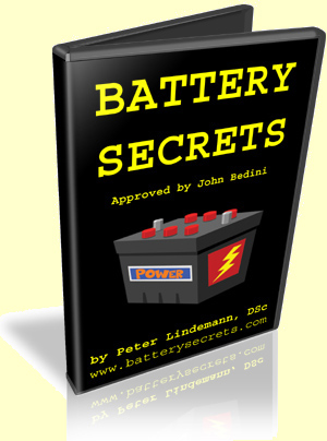 Battery Secrets by Dr. Peter Lindemann