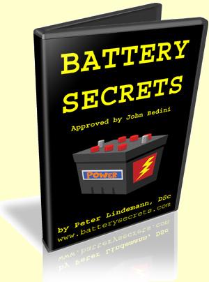 Battery Secrets by Dr. Peter Lindemann